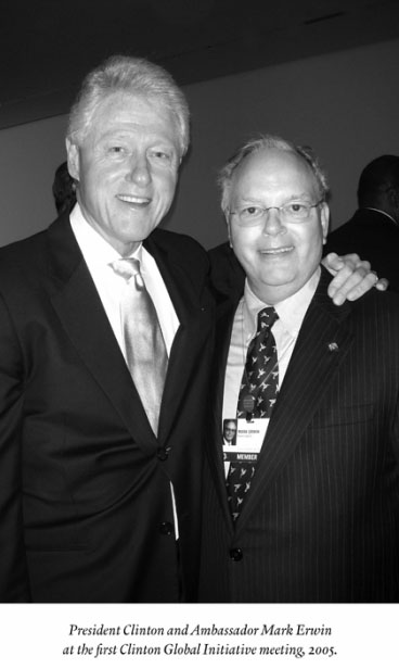 Bill Clinton Global Initiative Meeting