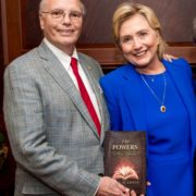 Hillary asked if she could have a copy of The Powers.